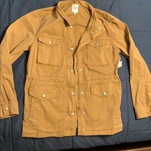 NWT gap xs military style jacket